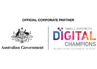Australian Government's Small Business Digital Champions Corporate Partner